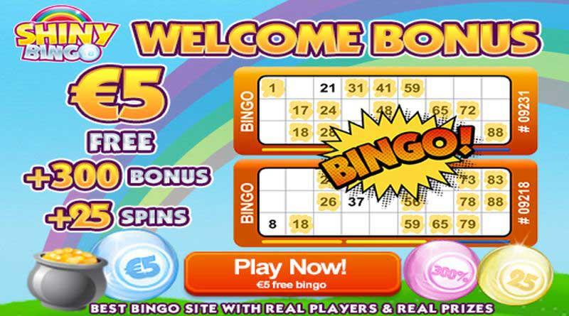 shiny bingo bonus