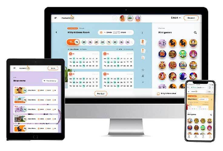Pragmatic Play Bingo mobiel en pc